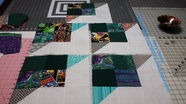 Carolina Hurricane Quilt blocks