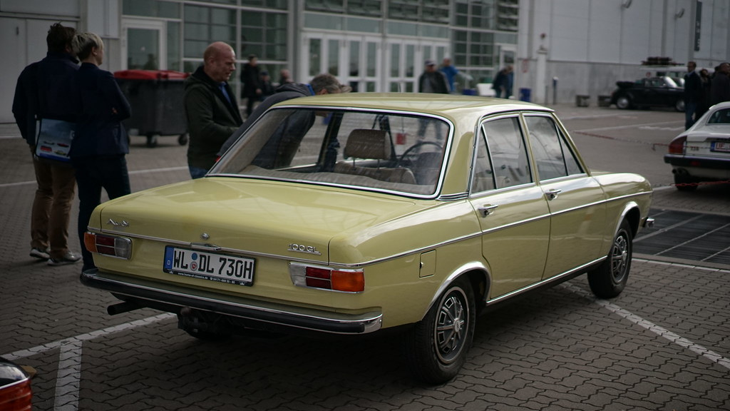 Audi 100 C1 Mark 800 Flickr