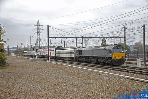 DE 6307 Crossrail . Z42592 . Visé Haut  . 25.10.18.