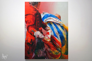 Conor Harrington - the Storyof Us and Them   by Butterfly Art News