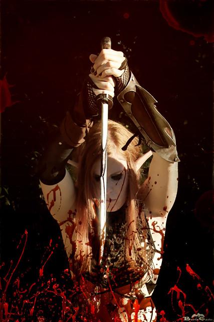 Blood maiden by Boris Cadu