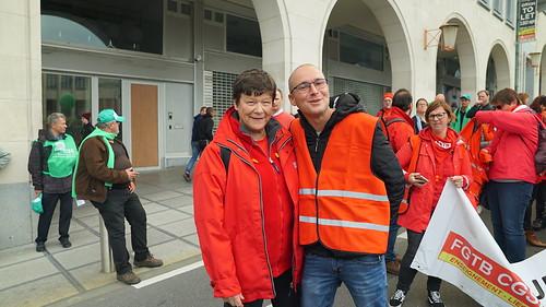 28-09-18 : Manifestation à Bruxelles - Réforme Fonction Publique | by IRW CGSP