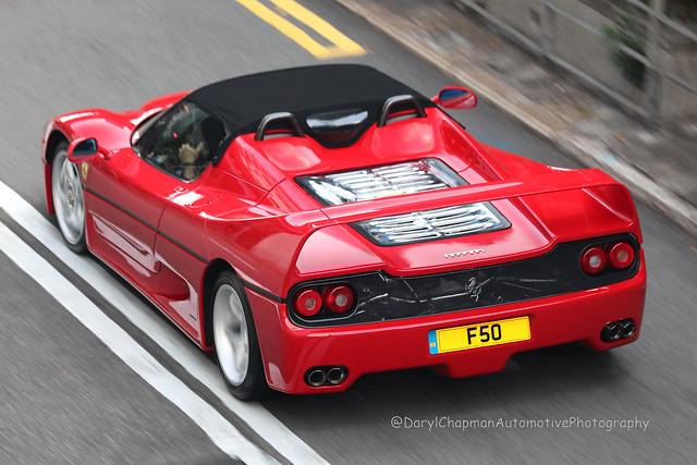 Ferrari, F50, Central, Hong Kong