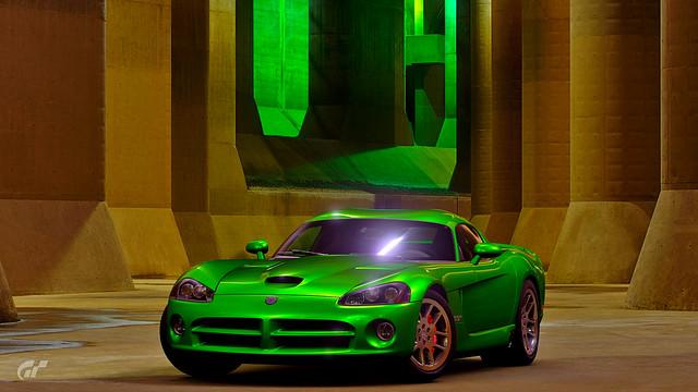 Dodge Viper SRT 10 In Underground