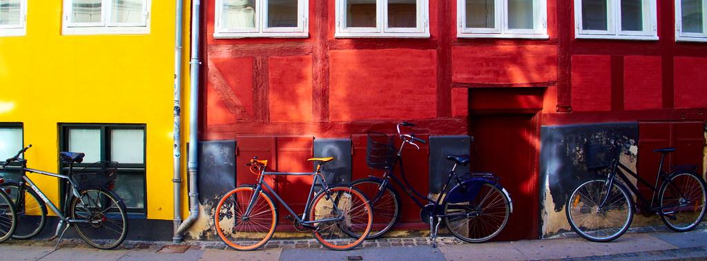 Bike on red