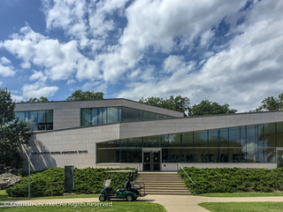 Brandeis University admission building