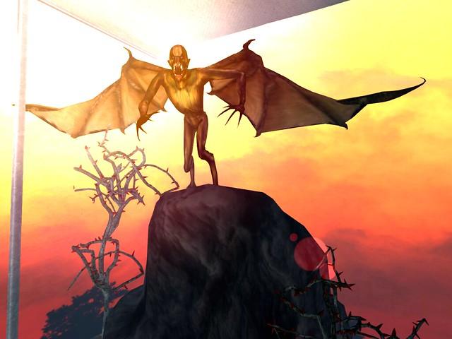 The Mad Circus 4 Halloween- He Had Demonic Aspirations of Flight..