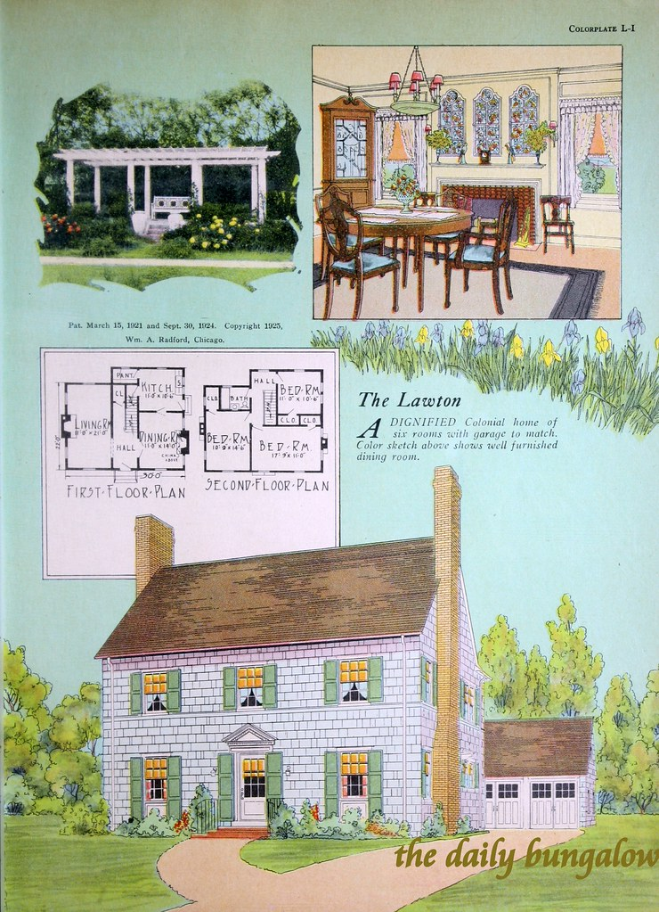 Radford Home & Garden | 1920's House Plans | Daily Bungalow ... on