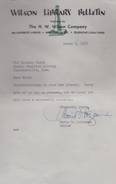 SCN_0002 Wilson Library Bulletin invitation response 19550308