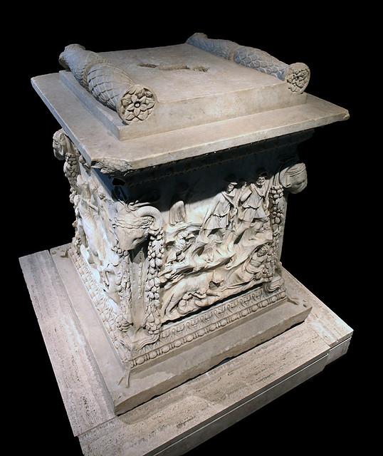 Mars Altar from Ostia Antica (MNR 324)