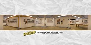 Exposición: Del papel en blanco a Paranoidland - Interior | by Bouman