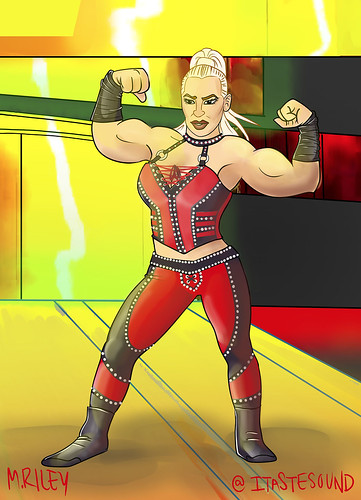 Dana Brooke | by Mike Riley