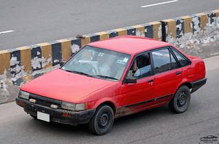 Toyota Sprinter E80, Bangladesh.