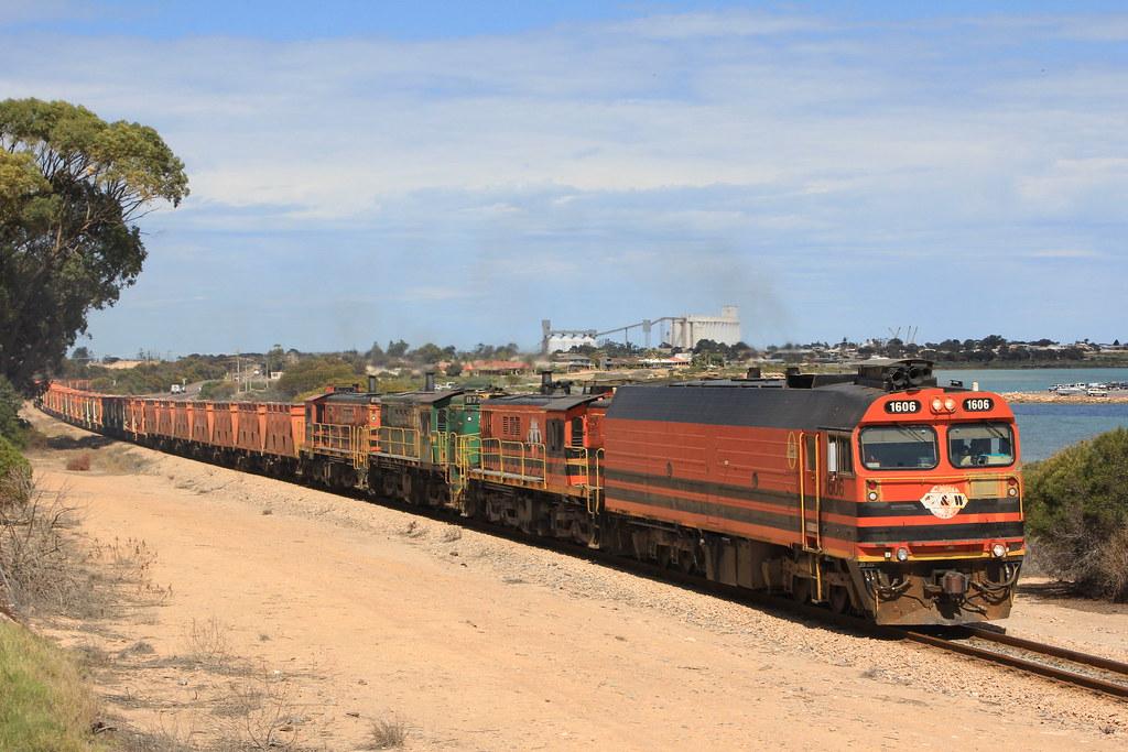 Ceduna Gypsum train by Steve Caines