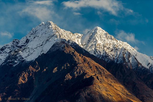 Snow capped Pioneer Peak