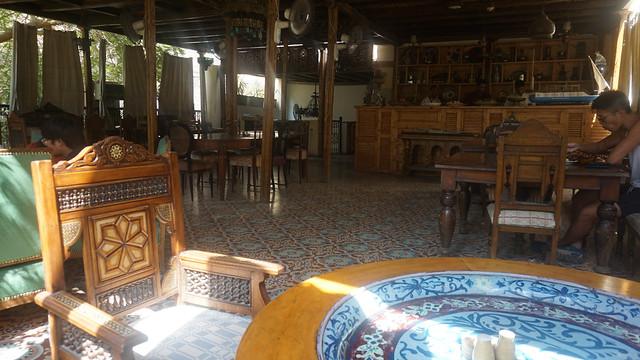 Terrace, Sofra Restaurant & Café, Luxor, Egypt.