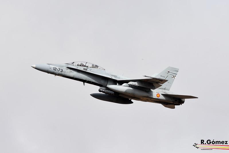 F18 Ala 12 Ejercito del Aire