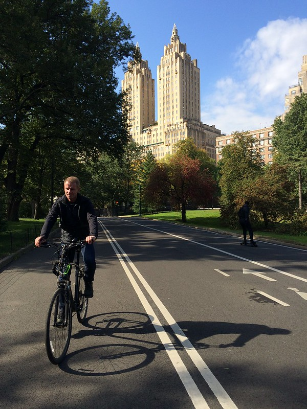 Cycling Central Park (11,6km)