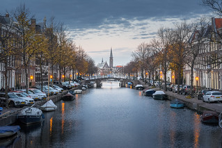 Twilight in Leiden | by martijnvdnat
