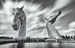 Kelpies Long Exposure