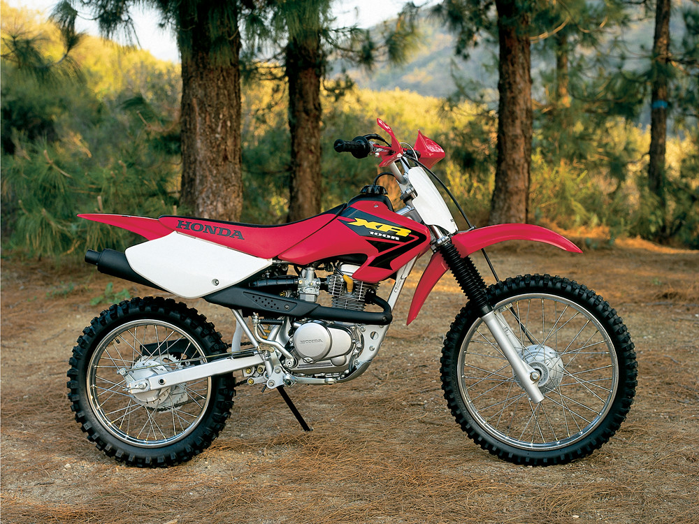 Honda Xr100 History Specs Pictures Cyclechaos