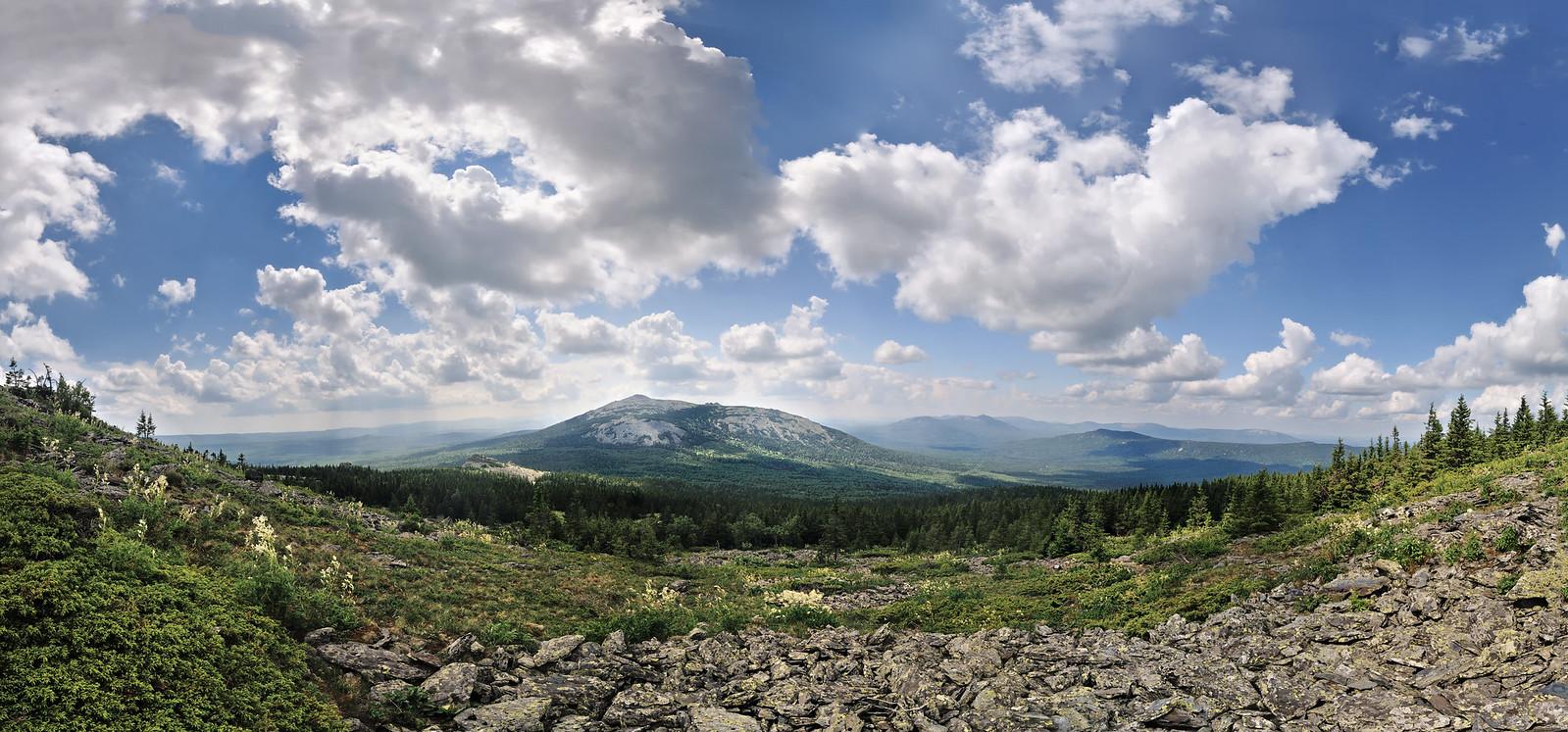 фотограф Челябинск, пейзаж, панорама, тайга, Нургуш