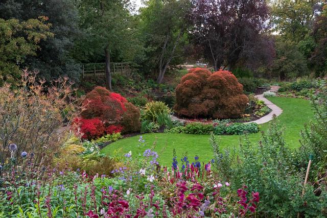 Mount Grace Priory gardens