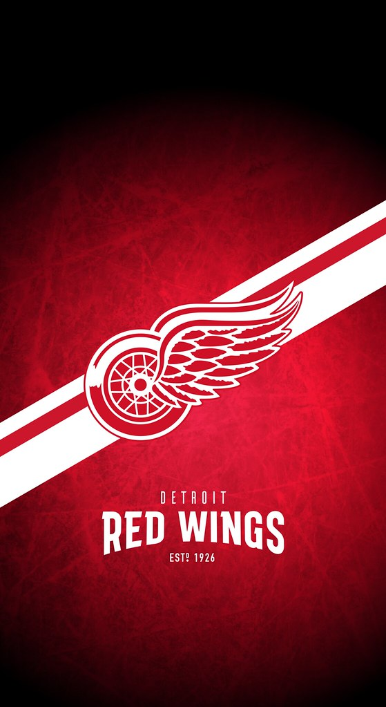 Detroit Red Wings Nhl Iphone X Xs Xr Lock Screen Wallpap Flickr