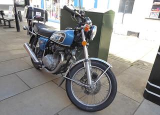 1976 Honda CB360   by Spottedlaurel
