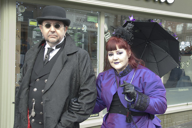 Whitby Goth Weekend, October 2018