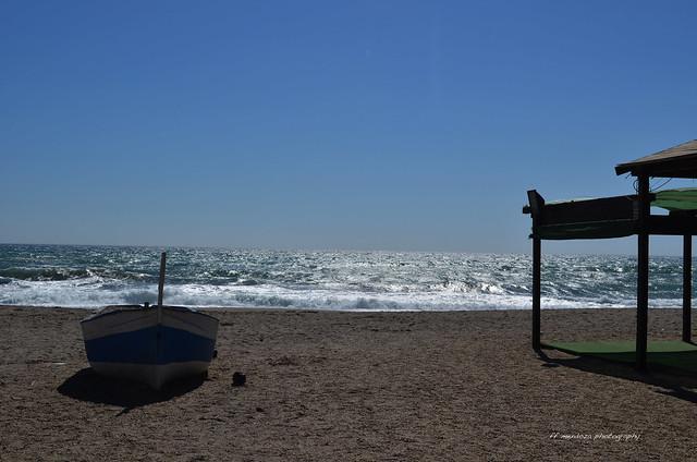 Minimal series  Cabo de Gata /barco de pescador