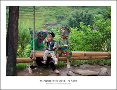Minority people in Sapa