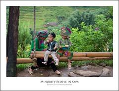 Minority people in Sapa
