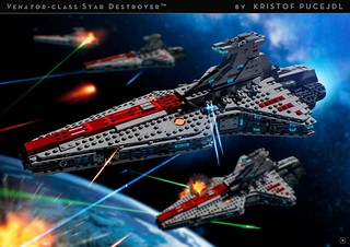 Venator-class Star Destroyer - Building Instructions | by Kristof Pucejdl