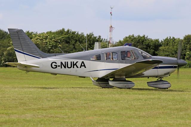 G-NUKA Piper PA28-181 Cherokee Archer II Aeroexpo Booker (High Wycombe) 15th June 2018