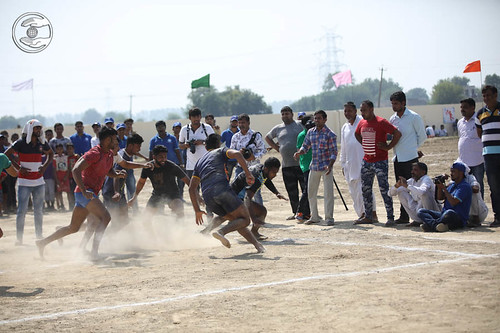 Kabaddi by male players