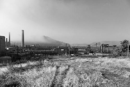 weirton westvirginia unitedstates us rustbelt steelmill blackandwhite weirtonsteel