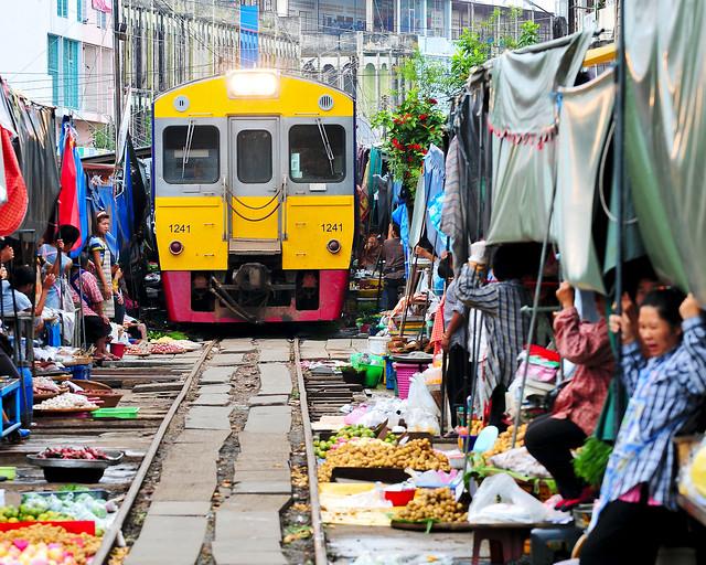 El tren de Mae Klong