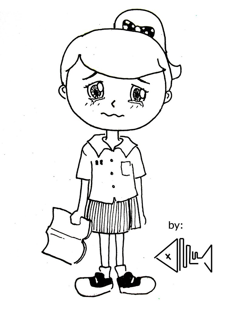 Contoh Gambar Ilustrasi Karikatur Yang Mudah Digambar Ideku Unik