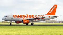 Airbus A319-111 G-EZDF easyJet - Spirit of easyJet 2014 Sticker