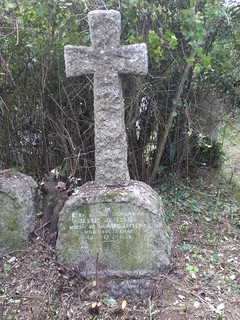 Jessie Jefferies grave, St Piran's, Perranzabuloe