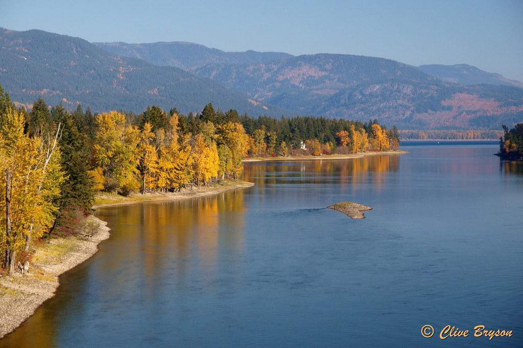 Little River Between Little Shuswap Lake Shuswap Lake B