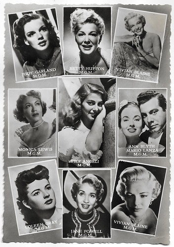 MGM Stars, including Judy Garland