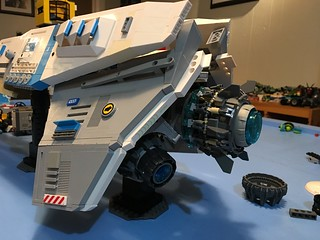 LEGO - SHIPtember 2018 - WIP - coming down to the wire. There's just not enough hours in the day 😜