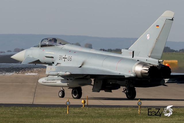 31+06 German Air Force (Luftwaffe) Eurofighter Typhoon