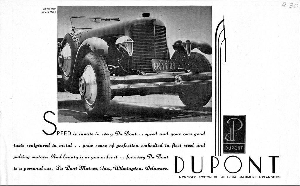 1930 DuPont Speedster | Alden Jewell | Flickr