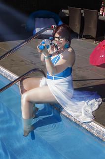 Overwatch Pool Party   by ...nelene...