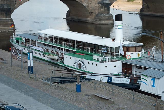 Paddle steamer Dresden