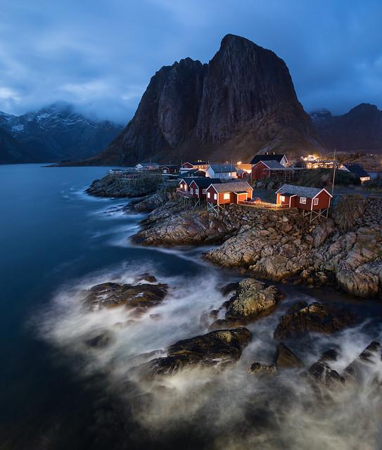 Blue Hour at Hamnøy, Lofoten, Norway
