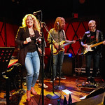 Mon, 01/10/2018 - 7:04am - Amy Helm and her band perform at Rockwood Music Hall in NYC for WFUV Public Radio, 10/1/18. Hosted by Carmel Holt. Photo by Gus Philippas/WFUV